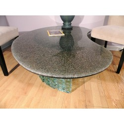 Gray Crackle Glass - Custom Sizes and Shapes