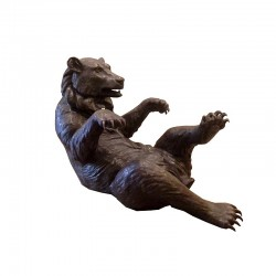 Bronze Bear Coffee Table Base