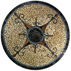 Lugano Mosaic Table Top