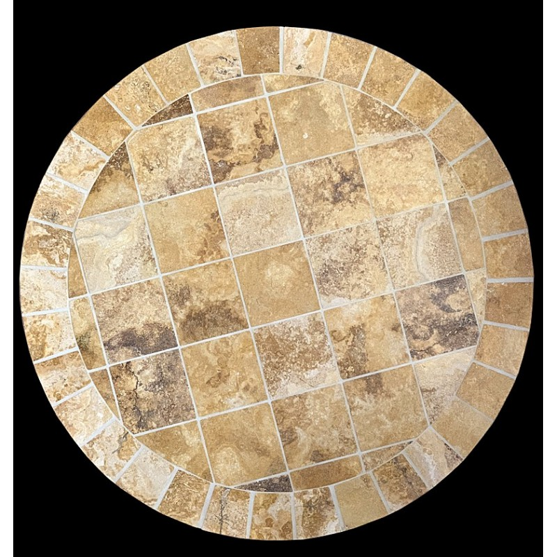 Tuscany Sun Mosaic Table Top