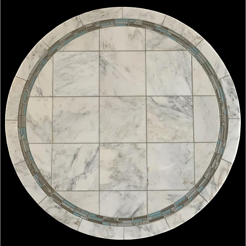 Alba Aqua Mosaic Table Top