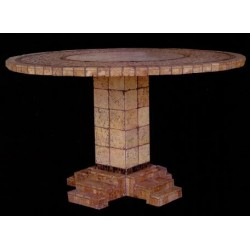 Athens Mosaic Counter Height Table Base
