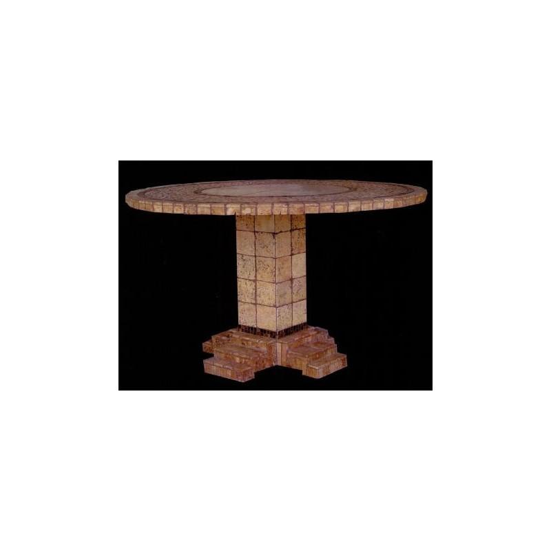 Athens Mosaic Chat Table Base