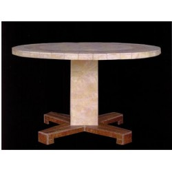 Aspen Mosaic Chat Table Base