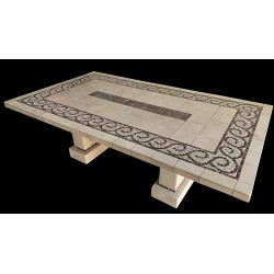 Claredon Emperador Mosaic Table Top