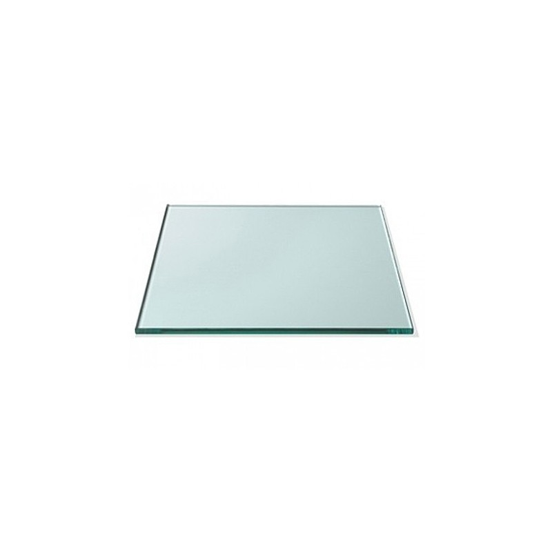 """34"""" x 34"""" Square 1/2"""" Thick Glass Top"""