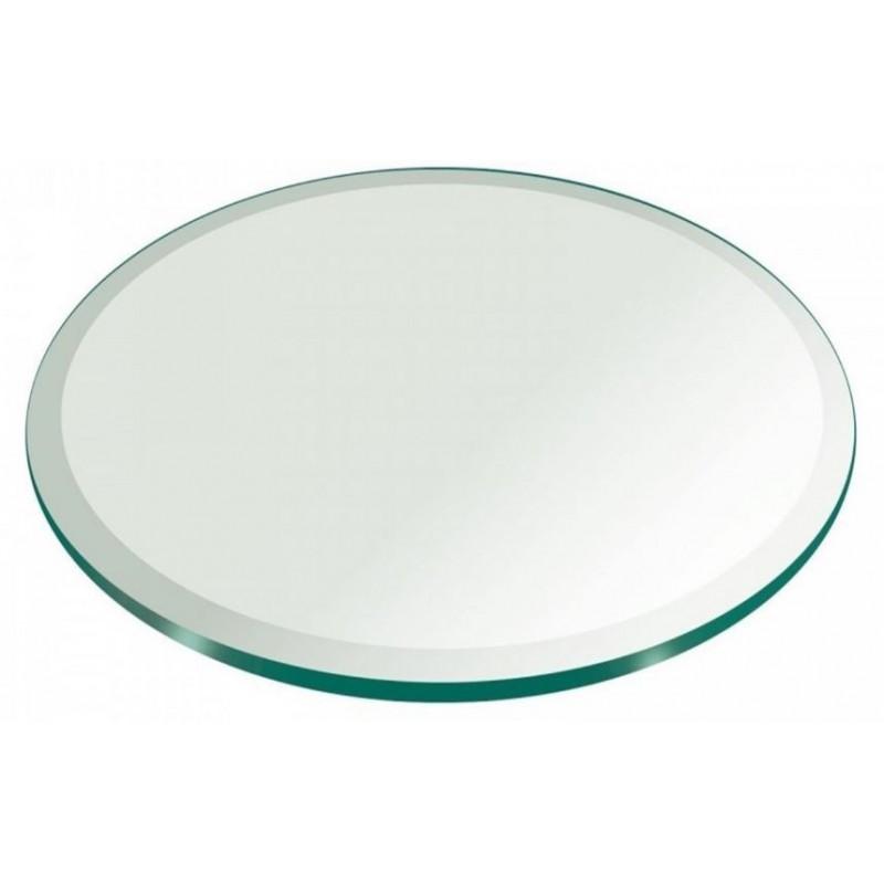 Custom Round Glass Tops