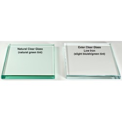 Custom Extra Clear Glass Tops