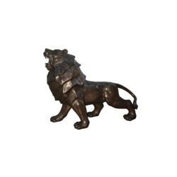 Bronze Contemporary Lion Sculpture