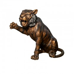 Bronze Baby Lion Sculpture