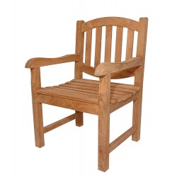Teak Kingston Dining Armchair