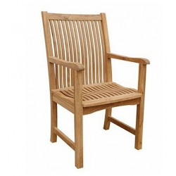 Teak Chicago Dining Armchair