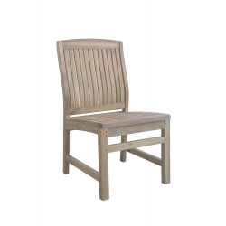 Teak Sahara Non-Stacking Dining Chair
