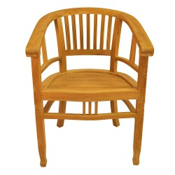 Teak Captain Dining Armchair