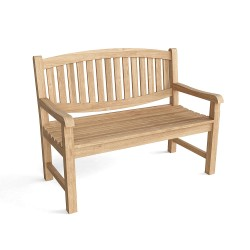 Teak Kingston 2-Seater Bench