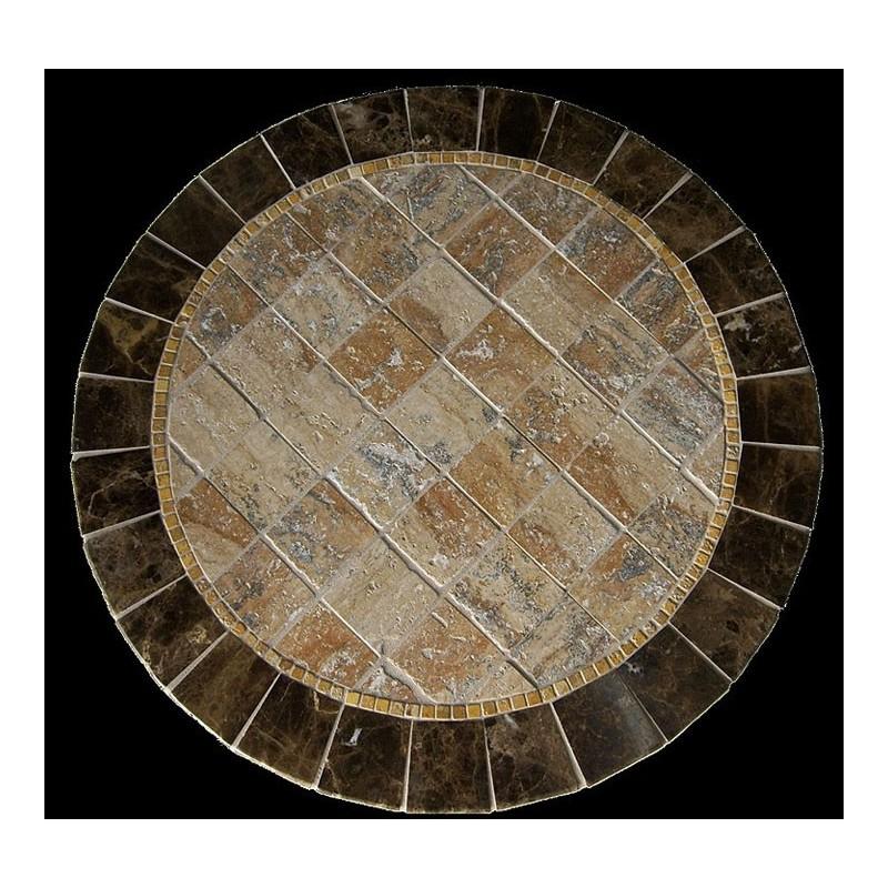 Barcelona Stone Tile Mosaic Table Top