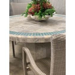 Aqualina Mosaic Stone Tile Table Top