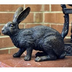 Bronze Bunny Rabbit Sculpture