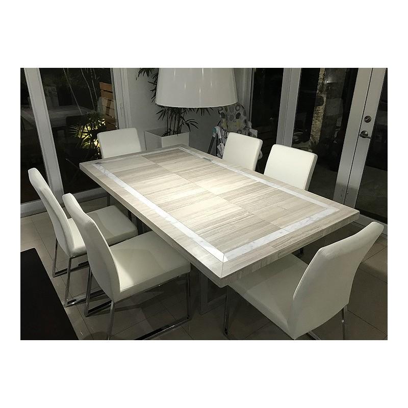 Belan Mosaic Table Top - Inside View