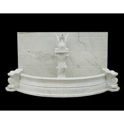Marble Dragon Wall Fountain