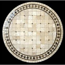 Belair Emperador Mosaic Table Top