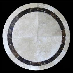 Alberta Emperador Mosaic Table Top
