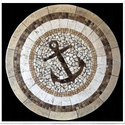 Anchor Mosaic Table Top