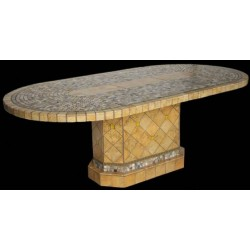 Elea Stone Tile Dining Table