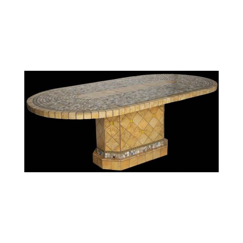 Elea Stone Tile Dining Table
