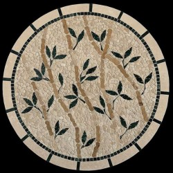 Bamboo Mosaic Table Top