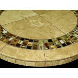Marquesa Mosaic Table Top - Side View