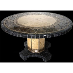 Black Moon Mosaic Table Top - Table