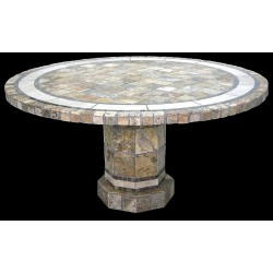Rio Roma Stone Tile Dining Table