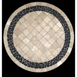 Pebble Creek Mosaic Table Top