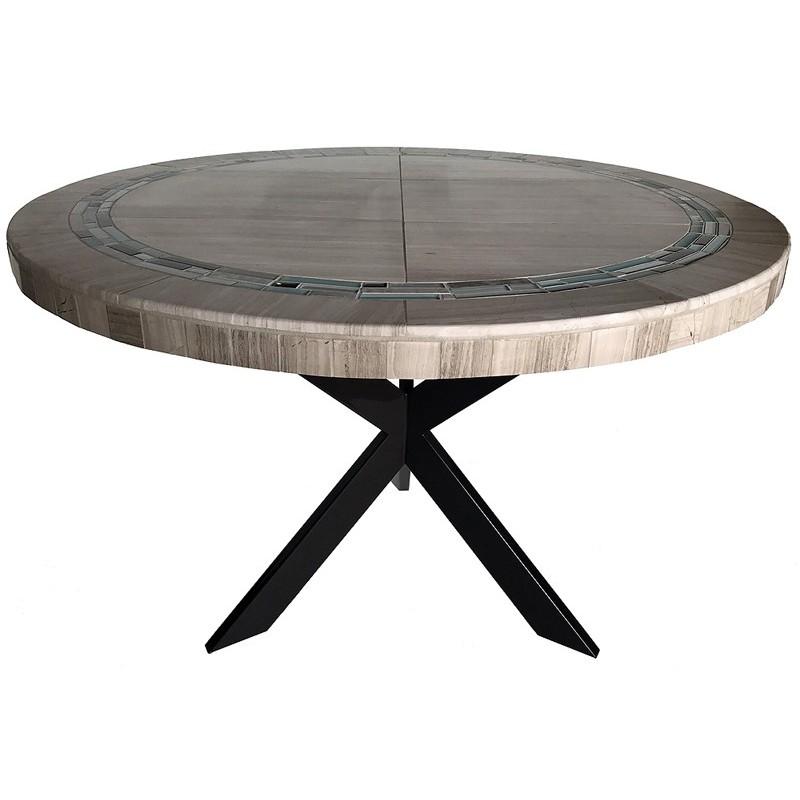 Loft Stone Tile Dining Table