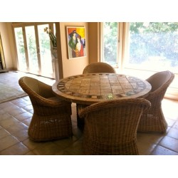 Imperial Mosaic Table Top - Round