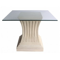 Simplicity Limestone Dining Table Base