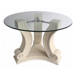 Regency Limestone Dining Table Base