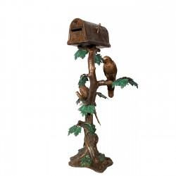 Bronze Parrot Mailbox
