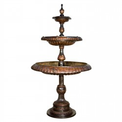 Bronze Classical Three Tier Fountain