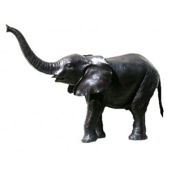 Bronze Baby Elephant Fountain Sculpture