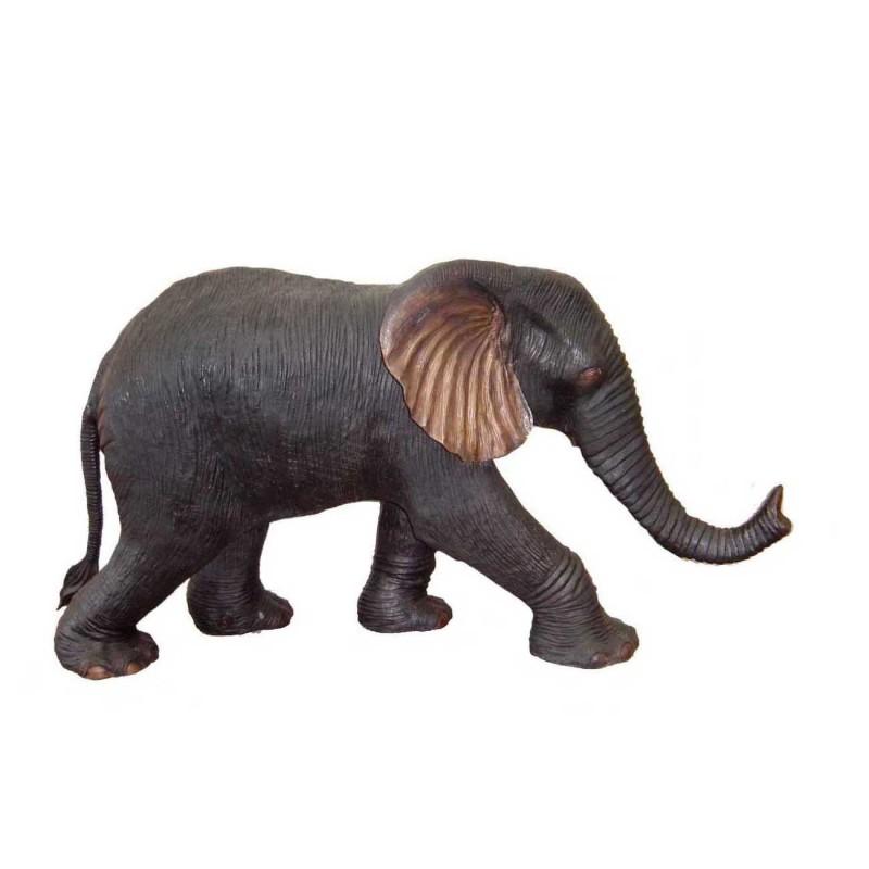 Bronze Baby Elephant Fountain Sculpture