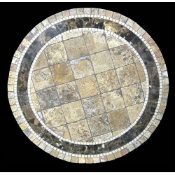 Clementine Mosaic Table Top
