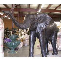 Bronze Large Elephant Fountain Sculpture