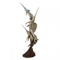 Bronze Large Sailfish Fountain Sculpture
