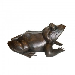 Bronze Frog Fountain Sculpture