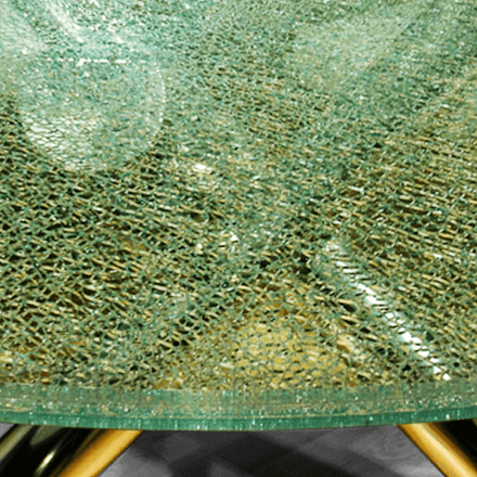Clear Crackle Glass