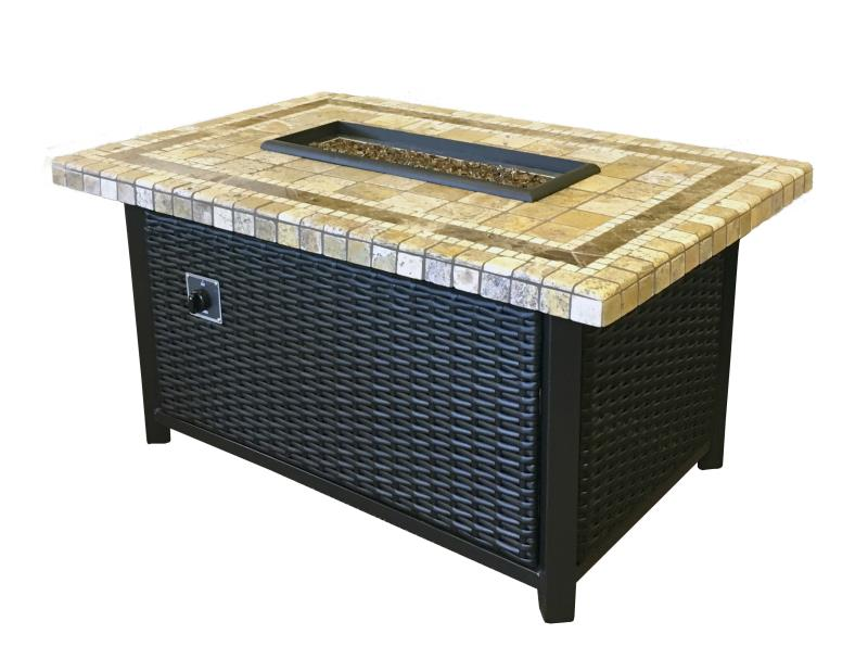 Clementine Mosaic Fire Pit