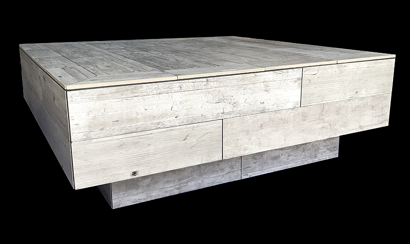 Custom Stone Tile Coffee Table